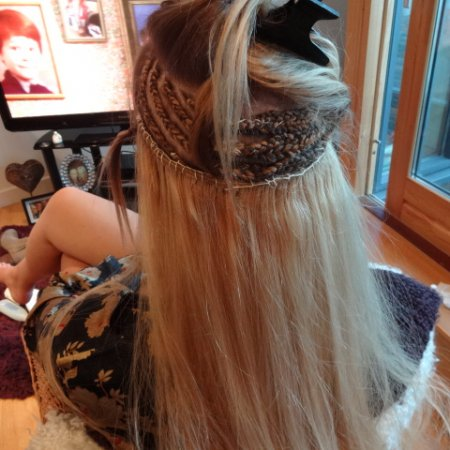 applying sew in hair extensions kind of hair extensions