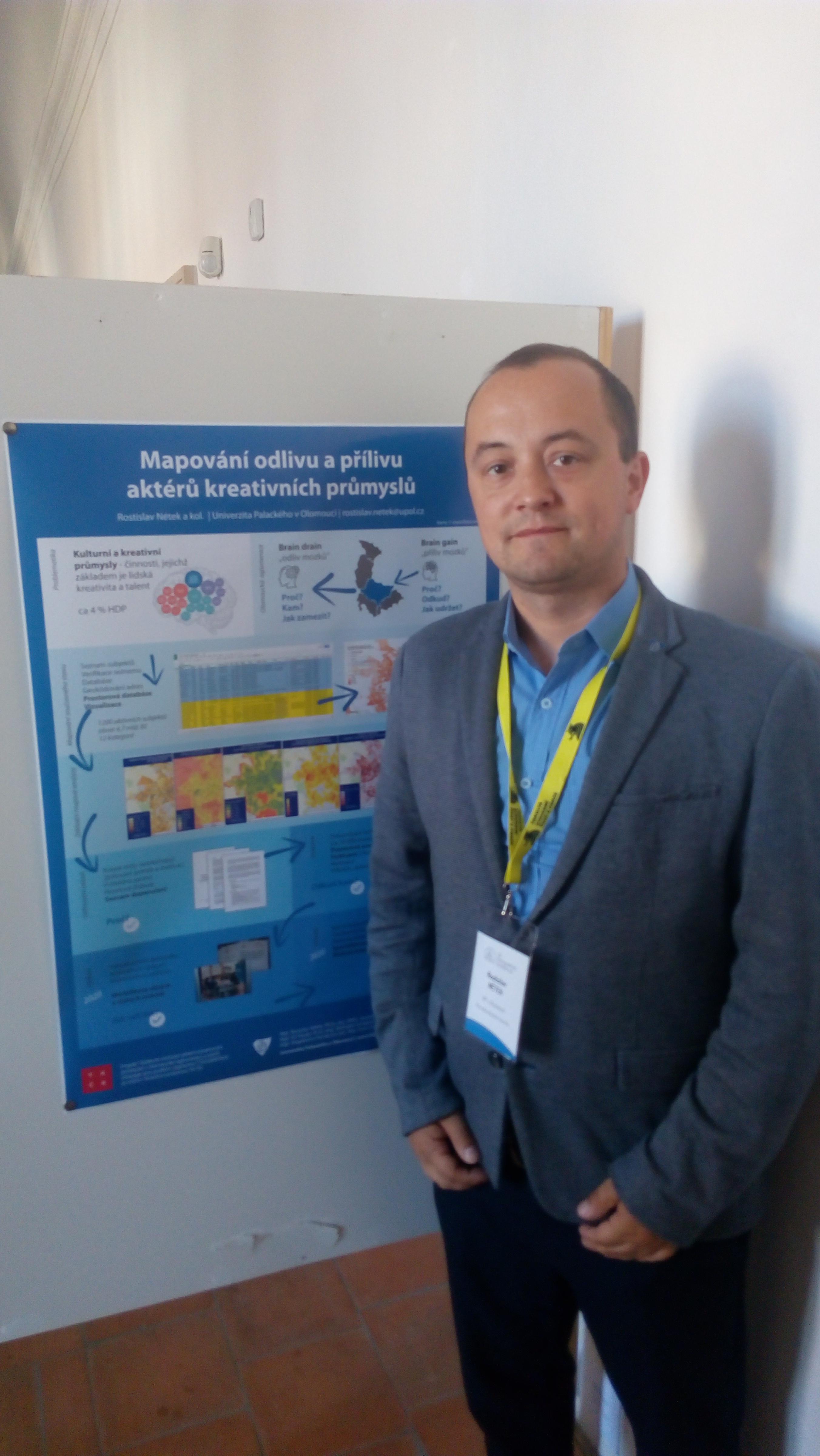 Mapování Olomouckých kreativních průmyslů na 23. kartografické konferenci