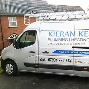 Kieran Kelly work van