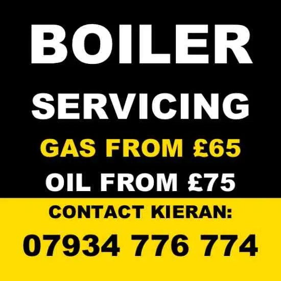 Gas Boiler Services from £65* Oil Boiler Services from £75* (*Terms apply.)
