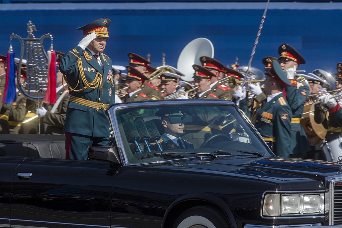 Rysslands försvarsminister Sergej Sjojgu står för en hård linje. Foto: Nickolay Vinokurov / Shutterstock.com