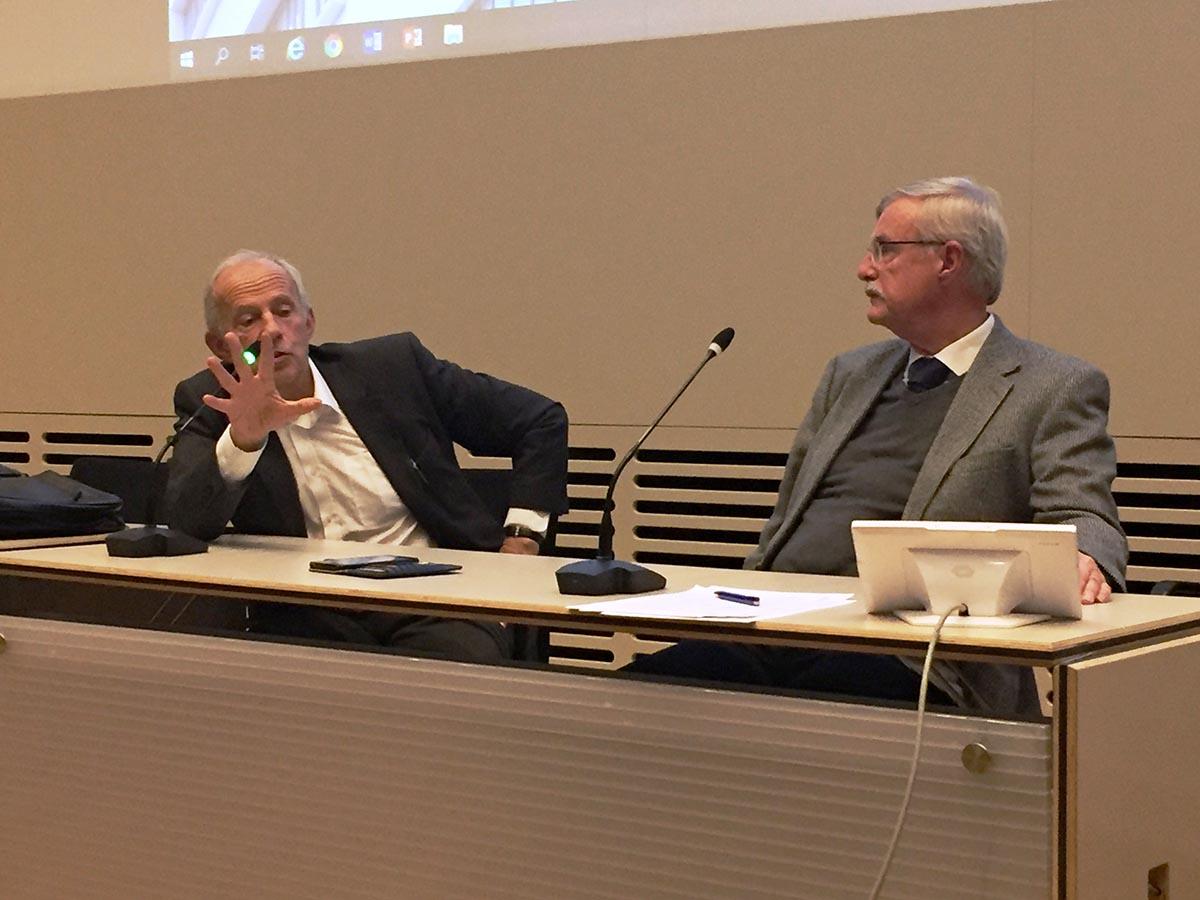 Michael Sahlin och Lars-Erik Lundin