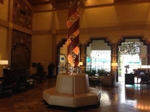 (アメリカ)スコッツデールのヒルトンホテルに到着