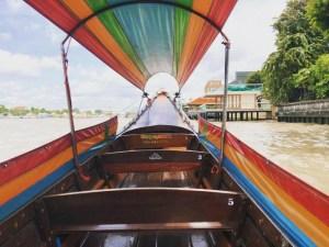 ぼったくり疑惑ありwバンコクで船(ボートツアー)に乗ってみた