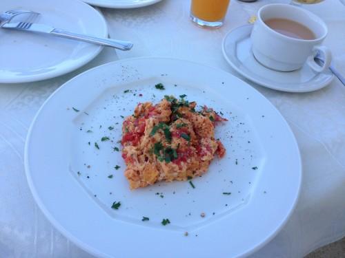 サントリーニ 家庭料理 朝食