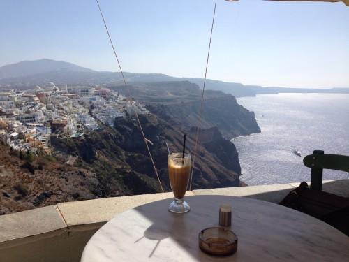 サントリーニ カフェ