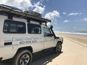 地球で遊ぼう!砂の島で4WDビーチサファリ