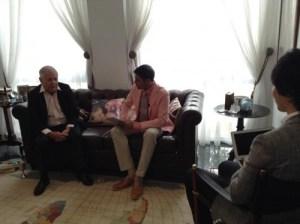 世界三大投資家ジムロジャーズさんの自宅を訪問して対談
