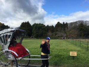 面白い!京都の嵐山で人力車に乗ってみた
