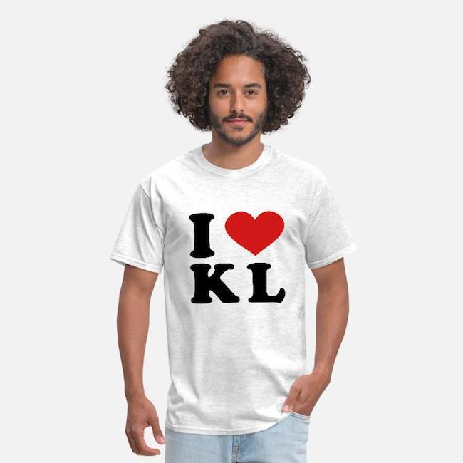 I love KL tシャツ