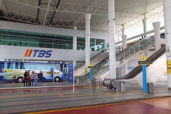 マレーシア バスターミナル