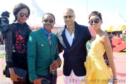 "Me and the cast of ""Isidingo"""