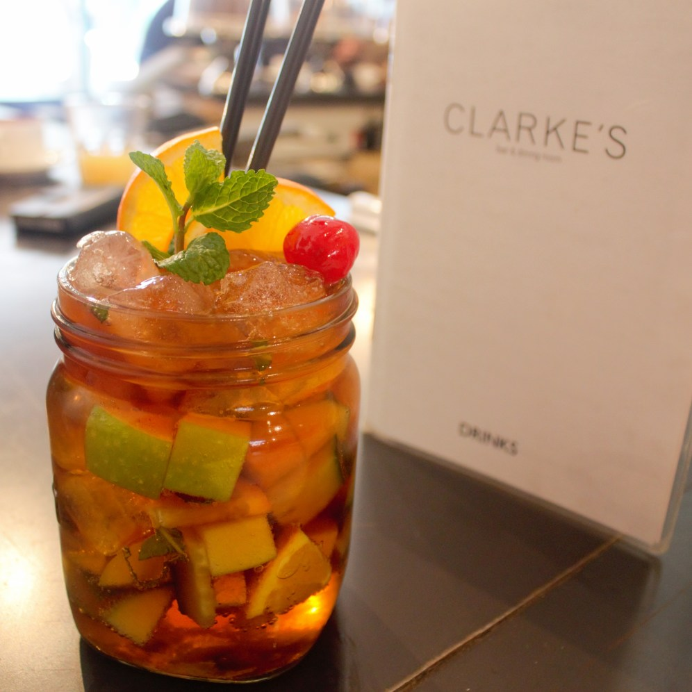 Cocktail option available at Clarke's Dining