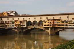 An der Ponte Vecchio, Florenz