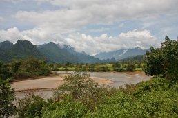 Flusslauf des Xong bei Phonxay, Laos