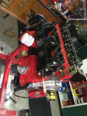 ...sieht der alte Motor besser aus als neu!