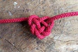 Keltischer Herzknoten (Liebesknoten)