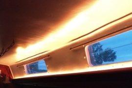 LED-Beleuchtung unter Deck