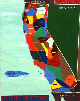 """California Precontact"" 47"" x 37"""