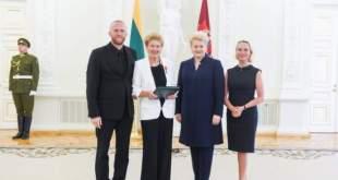 Gražina Arlickaitė su Prezidente