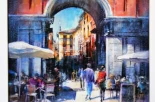 """Ispanijos dailininkų Perez Casanova ir Torregar paroda iš ciklo """"Ispanijos dialogai"""""""