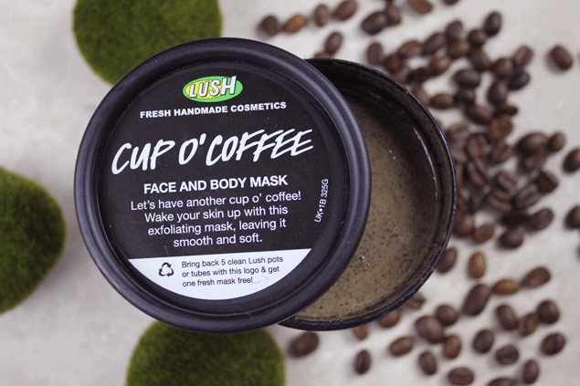 Image result for lush face mask cup o' coffee