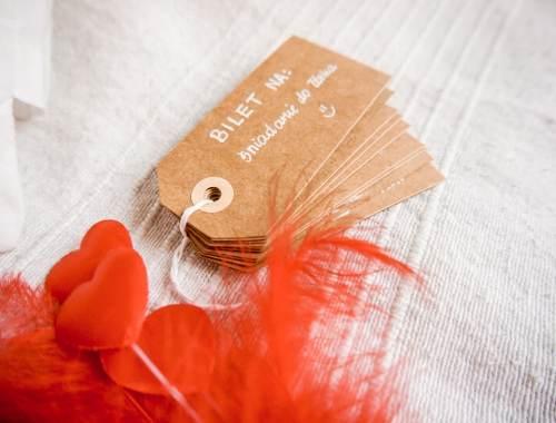 bilety miłosne DIY