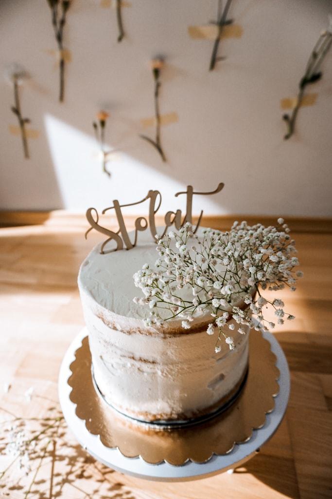 tort  smash cake