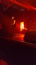 Der De Clercq auf der Bühne