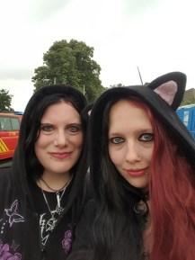 Silke und ich
