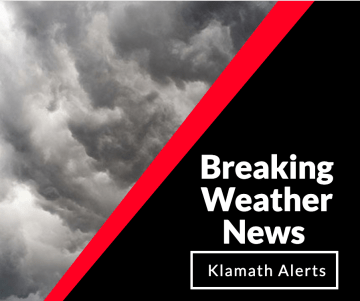 Weather Alert: Severe Thunderstorm North County - Klamath Alerts