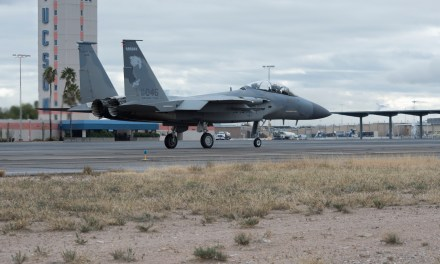173rd Fighter Wing beats storm heads south to Arizona