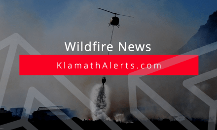 Fire crews battling 120 acre lightning caused fire on Klamath Marsh