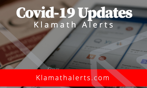 Klamath County reports 10 new cases of COVID-19
