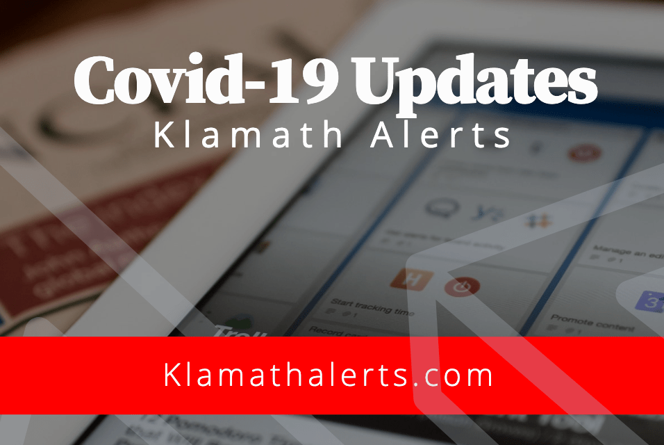 Klamath County reports 12 new cases of COVID-19