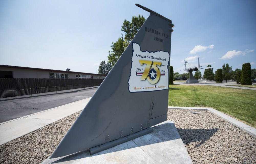 Kingsley Field shows off its heritage with new tail display