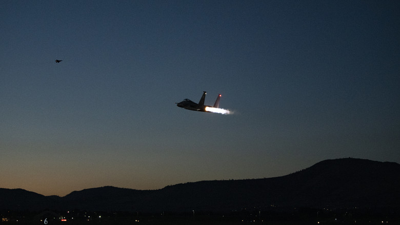 Kingsley pilots complete week of night flight exercises