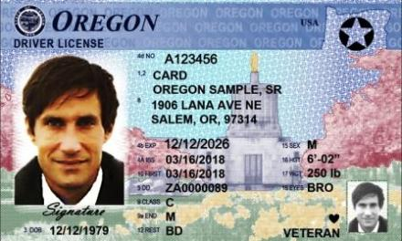 Oregon now compliant with federal Real ID Act