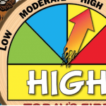 MOST OF WESTERN OREGON NOW DECLARED BY ODF TO BE IN HIGH FIRE DANGER