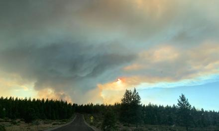 Caldwell Fire grows 30,000 acres and prompts evacuations in Tulelake area