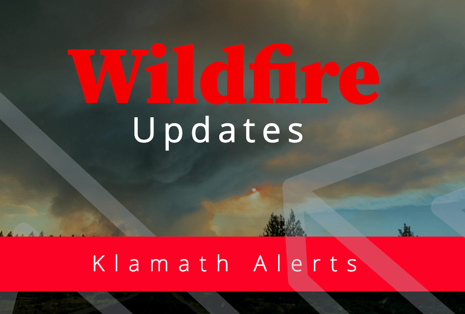 Klamath County Task Force arrive at the LNU Lightning Complex Fire staging area in California