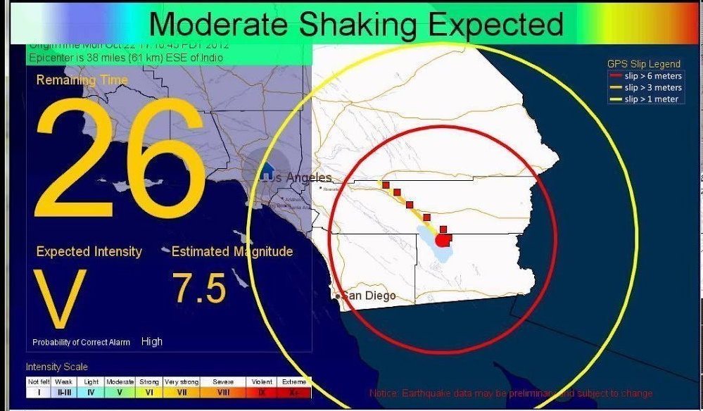 ShakeAlert to Provide Lifesaving Early Warning During Earthquakes