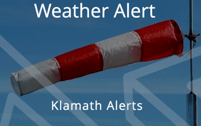 Wind advisory issued for Klamath Falls as 55mph wind gusts now possible Tuesday