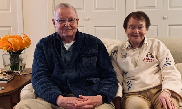 Don and Connie Mausshardt Klamath Falls City School's Person's of the Year