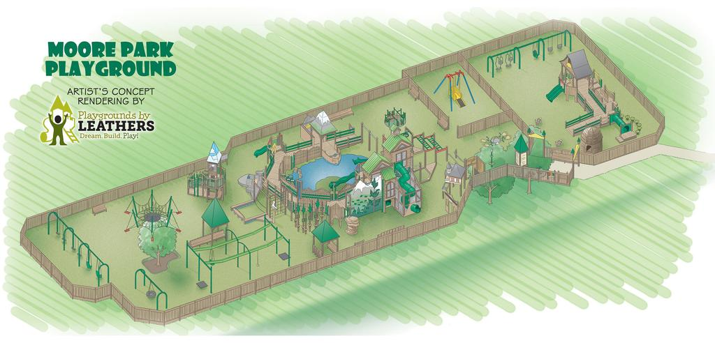Klamath County Developmental Disabilities Services Donates $12,000 to ADA-Accessible Playground