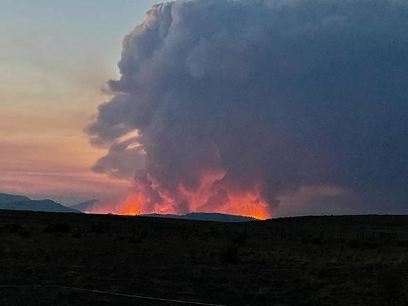 Cougar Peak Fire Update – Grows to an estimated 25,000 Acres