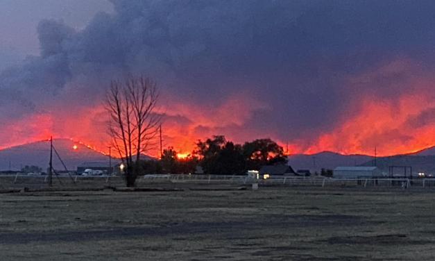 Cougar Peak Fire morning update September 14, 2021