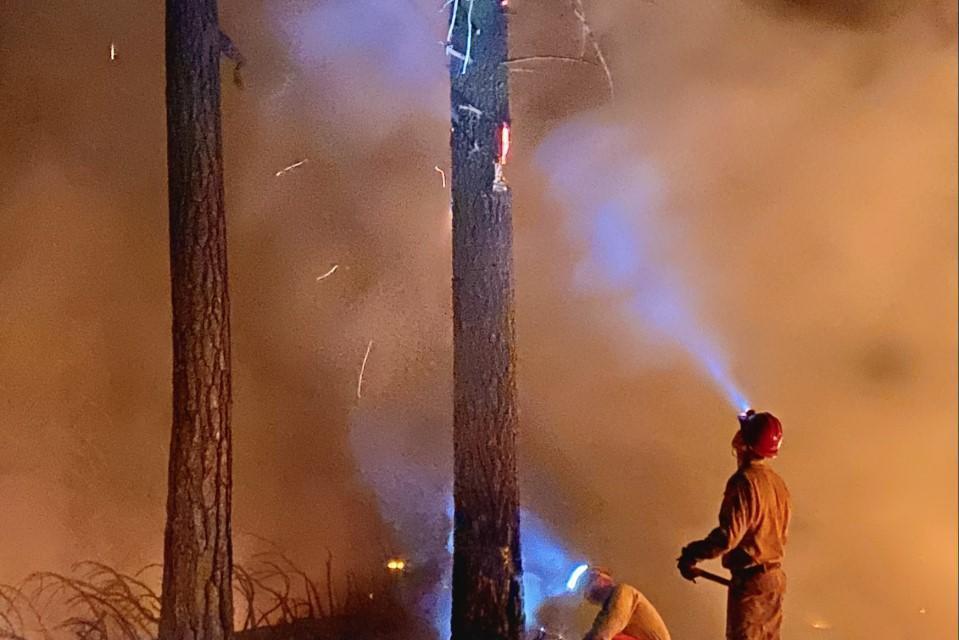 Cougar Peak Fire Update-September 26, 2021
