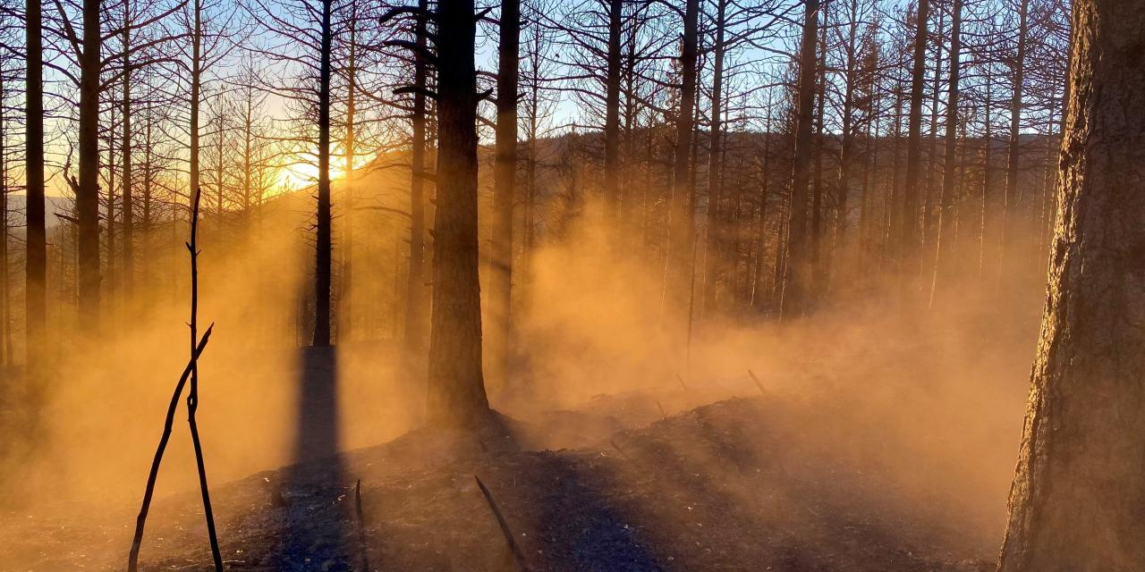 Cougar Peak Fire Update – October 4, 2021