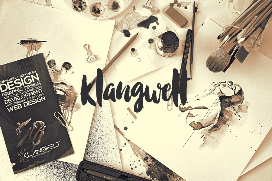 Graphic Design, Styling and Photography by Klangwelt